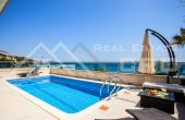 KO699, Nekretnine Korčula - Luksuzna vila s bazenom i pogledom na more, otok Korčula, na prodaju