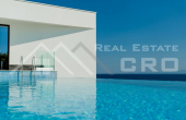 Korcula properties – Modern villa with overflow swimming pool in the first row to the sea on Korcula Island, for sale (1)