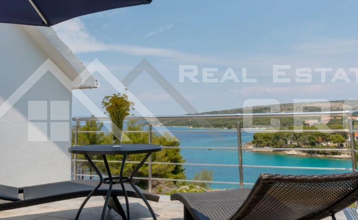 Brac properties- House with sea view in peaceful bay on Brac Island for sale
