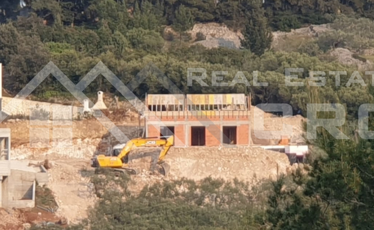 Sutivan Brac properties – Villa with swimming pool under construction, with beautiful sea view, for sale (6)