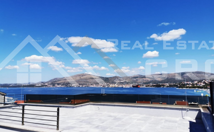 Real Estate Ciovo - Newly built Penthouse with sea view, for sale