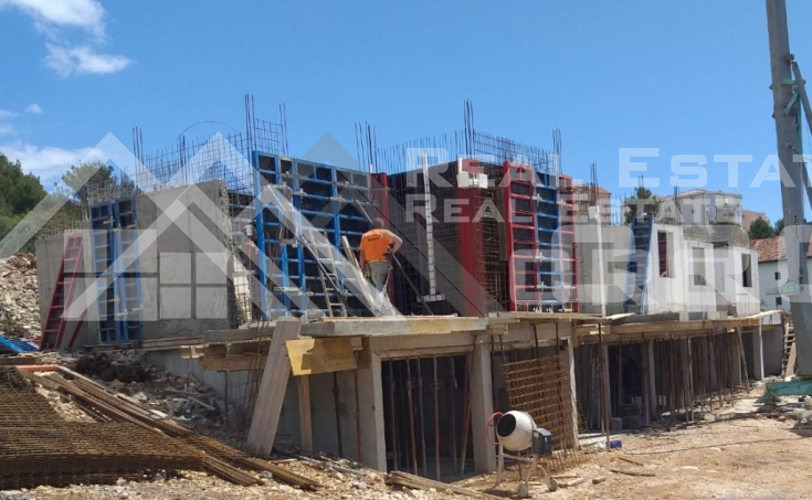 Two bedroom apartment under construction with sea view (7)