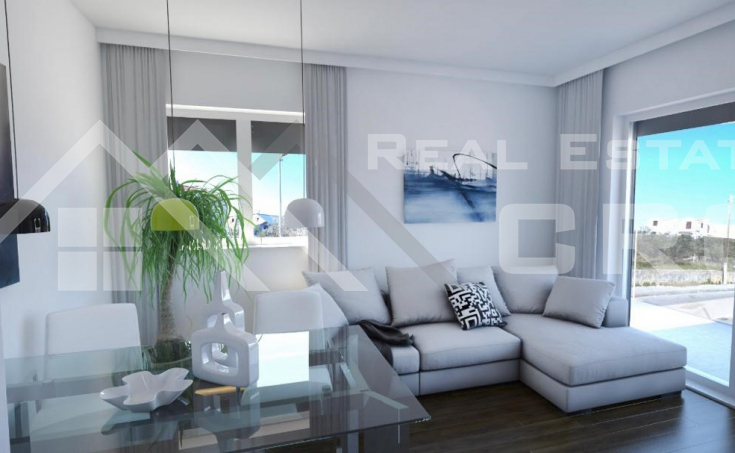 Smart two bedroom apartments under constructions, town of Trogir (2)
