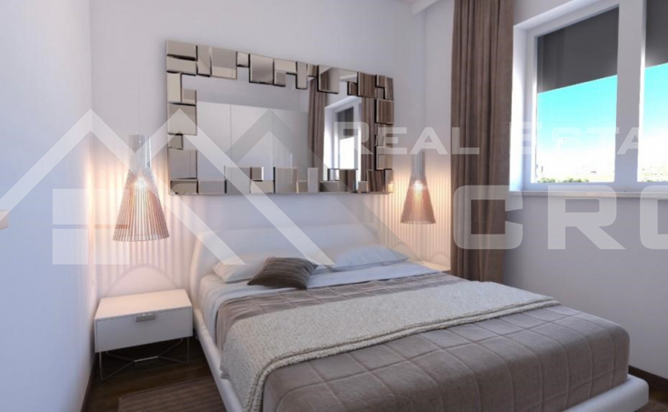 Smart two bedroom apartments under constructions, town of Trogir (3)