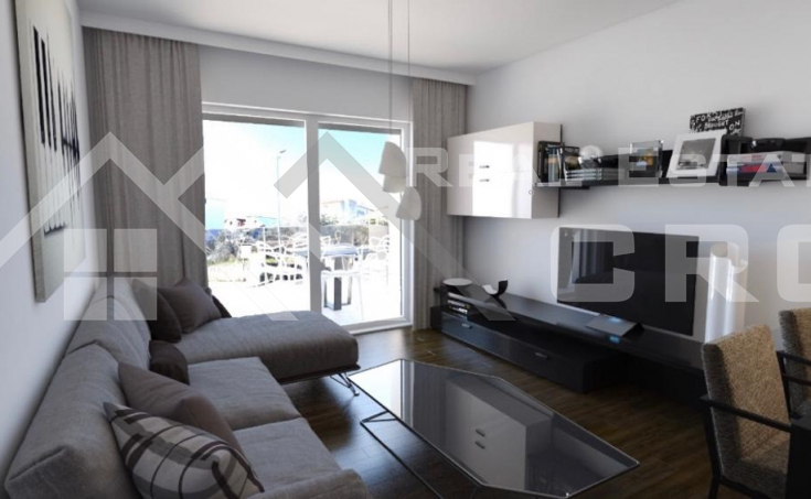 Smart two bedroom apartments under constructions, town of Trogir (4)