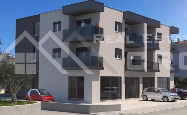 Smart two bedroom apartments under constructions, town of Trogir (5)
