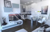 Smart two bedroom apartments under constructions, town of Trogir (1)