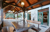 Stone villa with swimming pool in the center of Vrlika, for sale (3)