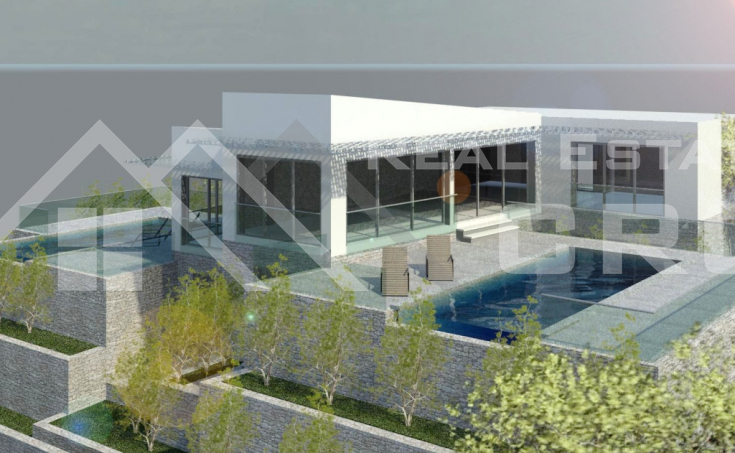 Modern object with a beautiful sea view, for sale, Ciovo