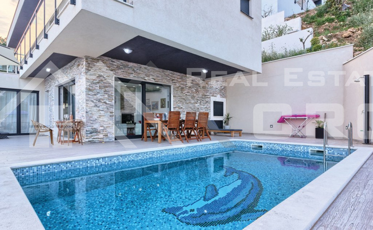 Wonderful villa with swimming pool and magnificent sea view (5)