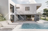 Villa under construction with swimming pool and wonderful sea view (3)