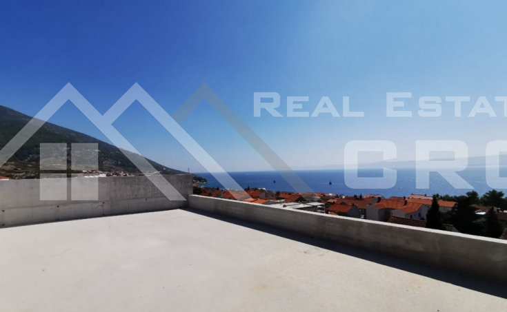 Brac properties, Bol – Object under construction with beautiful sea view, for sale