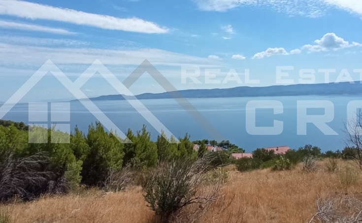 Omis properties – Land with sea view, for sale