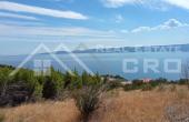 OM780, Nekretnine Omiš - Zemljište s pogledom na more, na prodaju