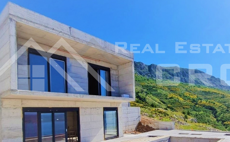 Modern villa with stunning sea view under construction for sale, O (3)