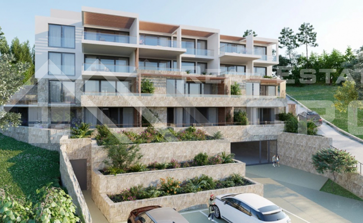 Luxurious apartments under construction in an attractive location on Vis Island (7)