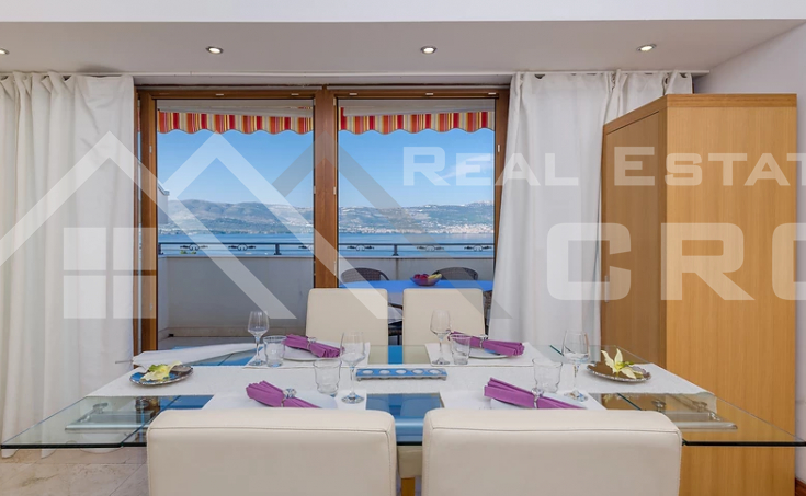 Real Estate Ciovo - Two bedroom furnished apartment with sea view, for sale