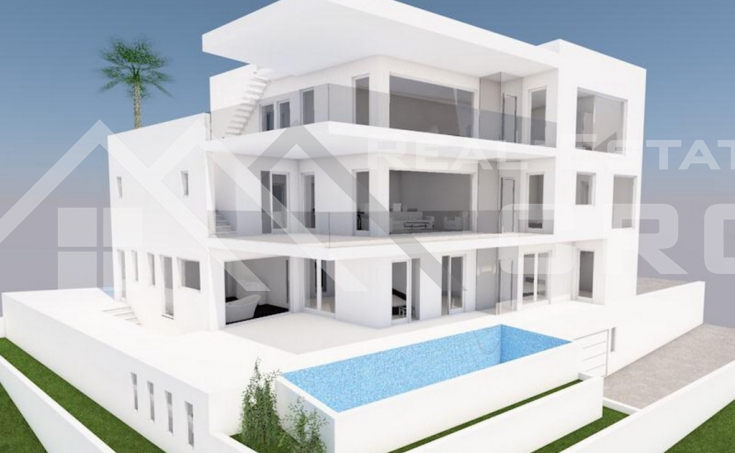 Split properties – Luxurious villa under construction with beautiful sea view, for sale