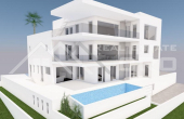 Luxurious villa under construction with beautiful sea view (1)