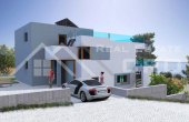 Modern villa under construction with beautiful sea view (1)