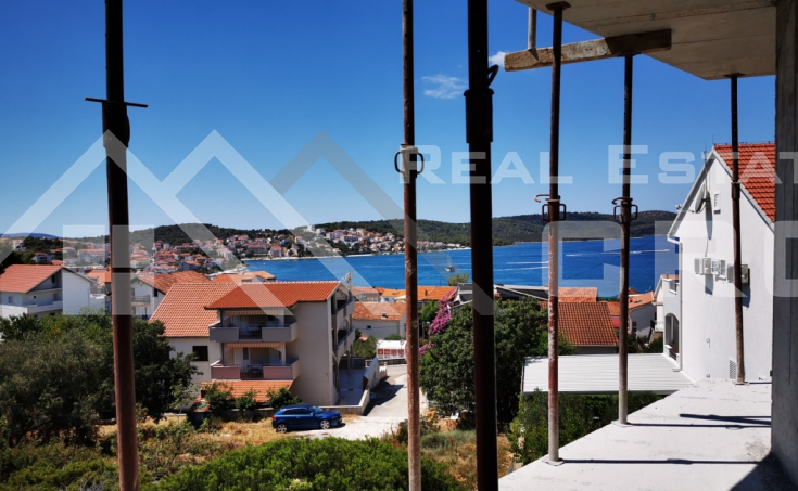 Ciovo properties – Two-bedroom newly built apartment with garden and wonderful sea view, for sale
