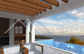 Luxurious villa under construction with beautiful sea view (3)