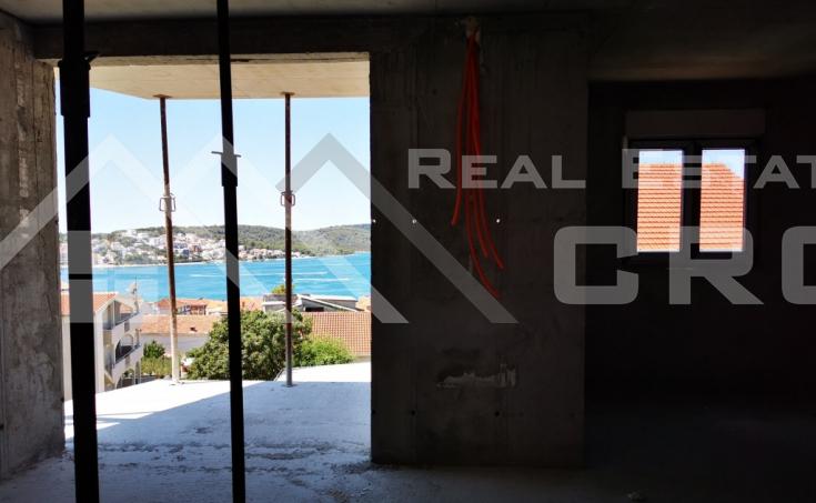 Nekretnine Čiovo - Penthouse u izgradnji s prekrasnim pogledom na more, na prodaju