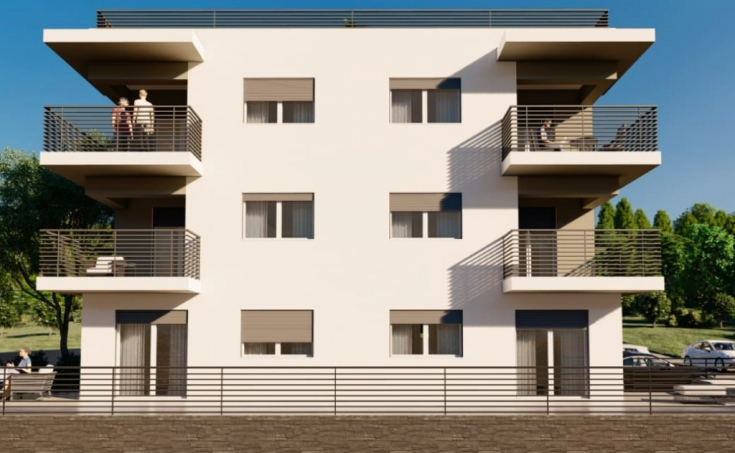 Apartments under construction with beautiful sea view (3)