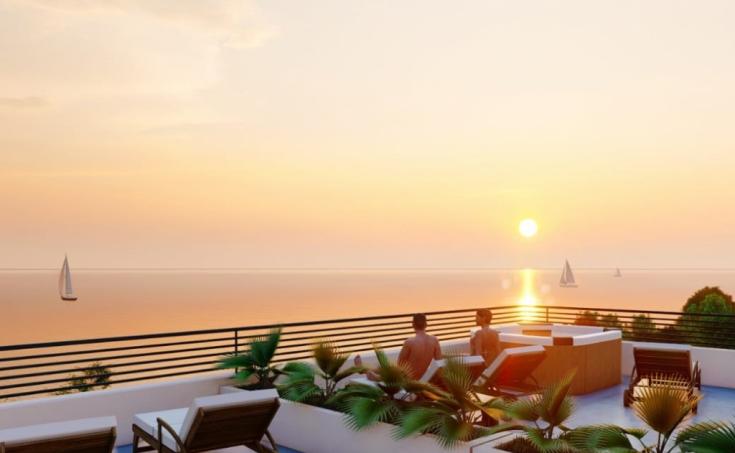 Nekretnine Čiovo - Stanovi u izgradnji s prekrasnim pogledom na more, na prodaju