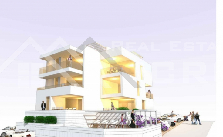Two bedroom apartment in a new building with a beautiful sea view, for sale, Ciovo island (1)