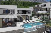 OM847, Nekretnine Omiš - Luksuzna vila u izgradnji s bazenom i prekrasnim pogledom na more, na prodaju