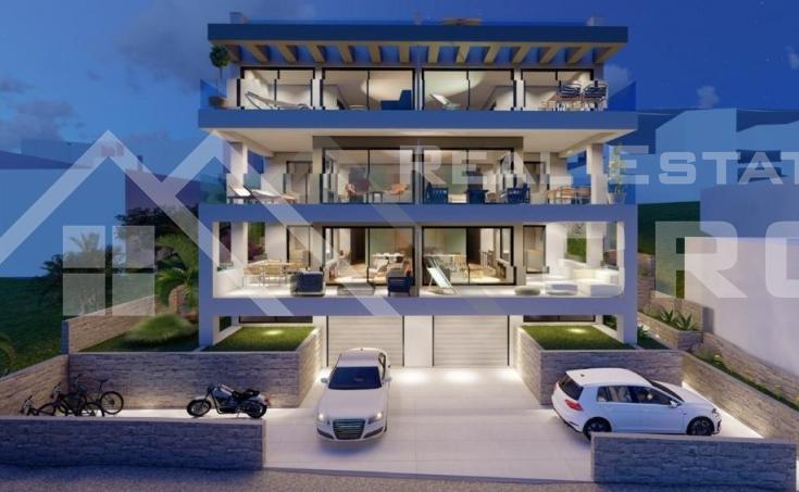 Nekretnine Čiovo - Moderni stanovi u izgradnji s bajkovitim pogledom na more na prodaju