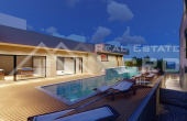 Two apartments under construction with a pool and beautiful sea view,for sale (2)