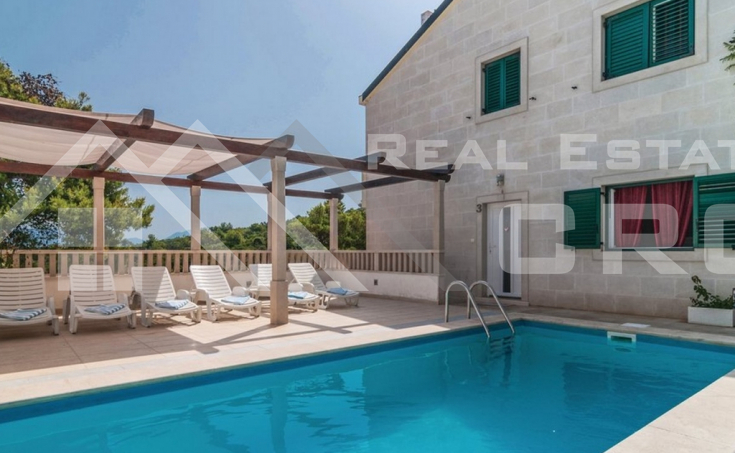 Apartment house with swimming pool and wonderful sea view, for sale (7)