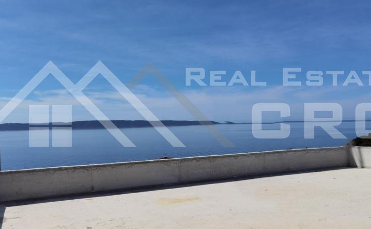 Nekretnine Čiovo - Luksuzni penthouse u izgradnji s prekrasnim pogledom na more, na prodaju.