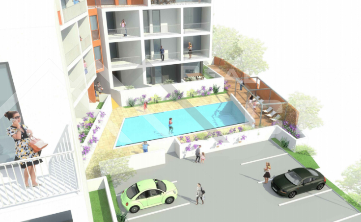 Two bedroom apartment under construction with sea view, for sale (4)