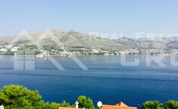 Ciovo properties - Comfortable apartment with panoramic sea view, for sale