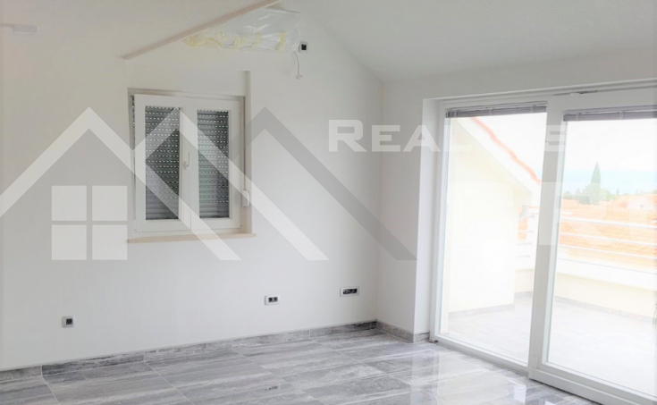 Brac properties – Newly built two-story apartment with wonderful sea view, for sale