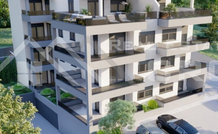Ciovo properties - Modern two bedroom apartment on the ground floor under construction, for sale