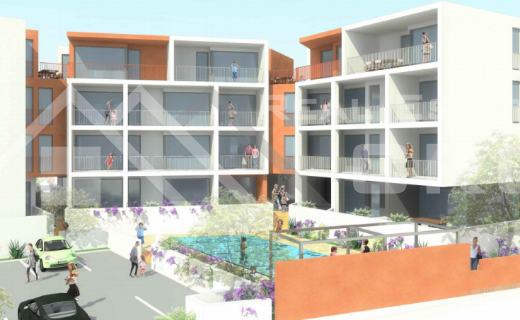 Ciovo properties - Attractive apartment under construction with sea view in an interesting location, for sale