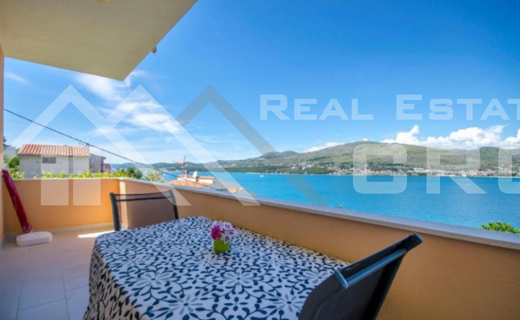 Ciovo properties - Beautiful apartment house in an incredible location with sea view, for sale
