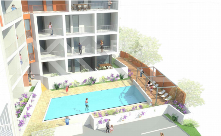 Apartments under construction  with sea views in a great location, for sale (2)