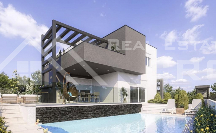 Modern villa with a pool in an attractive location, for sale (4)