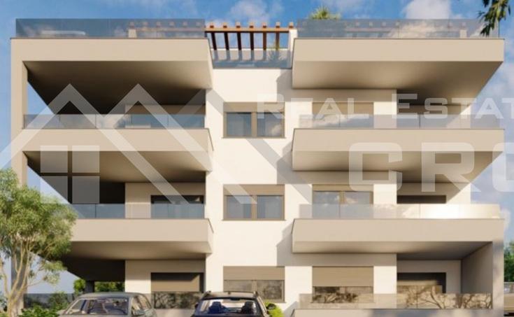 Nekretnine Ciovo - Stanovi u modernoj zgradi s pogledom na more u izgradnji, na prodaju