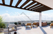 Apartments under construction in a modern building with sea view, for sale (5)