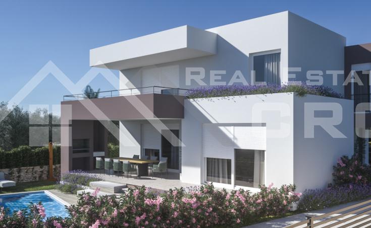 Nekretnine Šibenik - Prekrasna moderna villa u izgradnji s bazenom, na prodaju