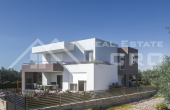 Beautiful modern villa under construction with pool, for sale (1)