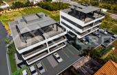 TG916, Nekretnine Trogir -  Komforan stan u izgradnji s terasom i pogledom na more na prodaju