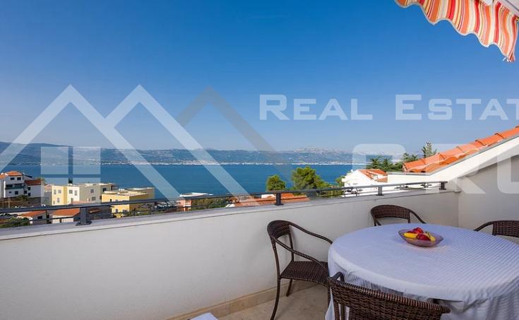 Nekretnine Ciovo - Penthouse s prekrasnim pogledom na more, na prodaju