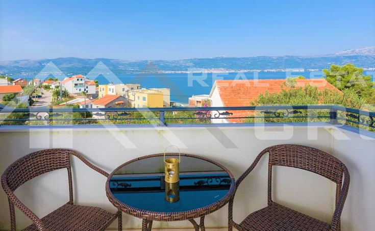 Ciovo properties - Furnished and equipped apartment with wonderful sea view, for sale